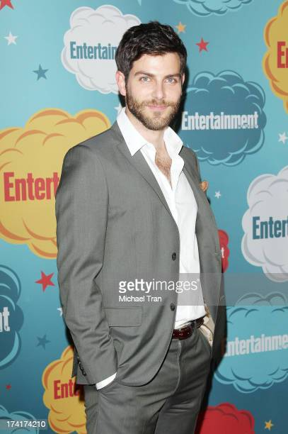 David Giuntoli arrives at the Entertainment Weekly's Annual ComicCon celebration held at Float at Hard Rock Hotel San Diego on July 20 2013 in San...