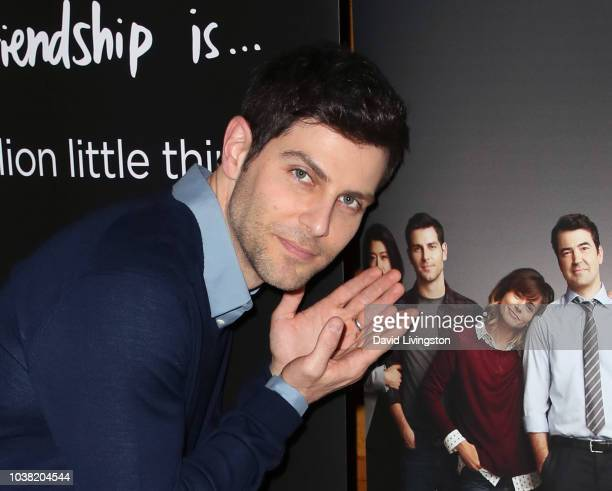 David Giuntoli attends the premiere of ABC's A Million Little Things at LACMA on September 22 2018 in Los Angeles California