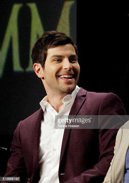 David Giuntoli attends the SAGAFTRA Foundation Conversations with the 'Grimm' cast at SAGAFTRA Foundation on March 5 2016 in Los Angeles California