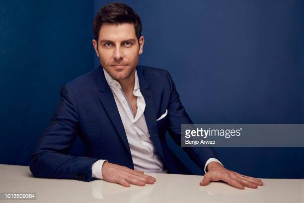 David Giuntoli of ABC's 'A Million Little Things' poses for a portrait during the 2018 Summer Television Critics Association Press Tour at The...