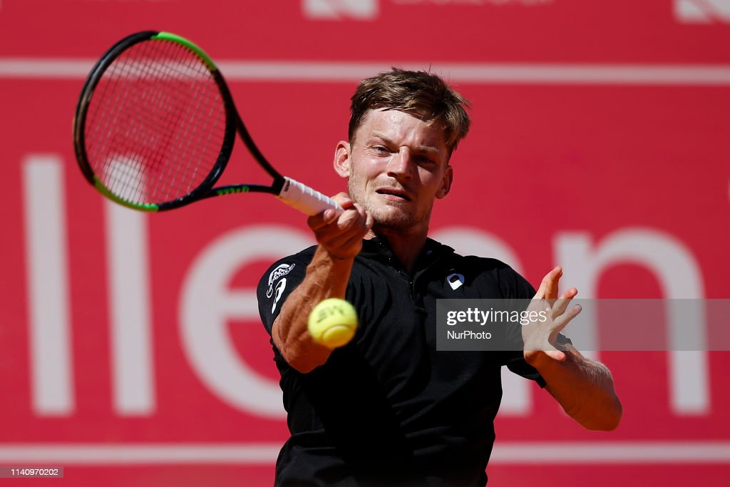 Estoril Open 2019 - David Goffin v Malek Jaziri : News Photo