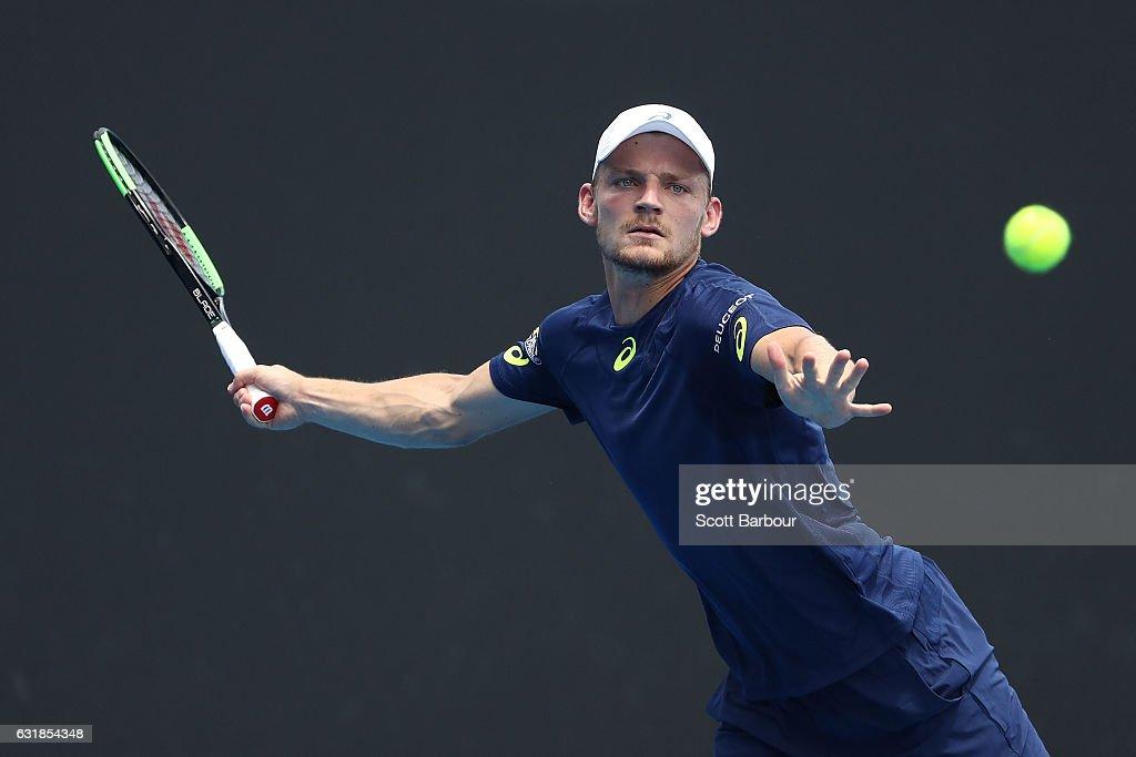 2017 Australian Open - Day 2 : ニュース写真