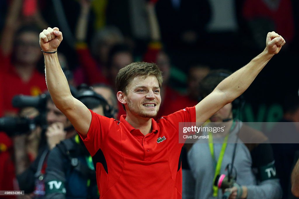 Belgium v Great Britain: Davis Cup Final 2015 - Day One