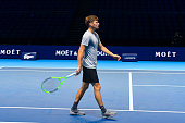 david goffin belgium action during training