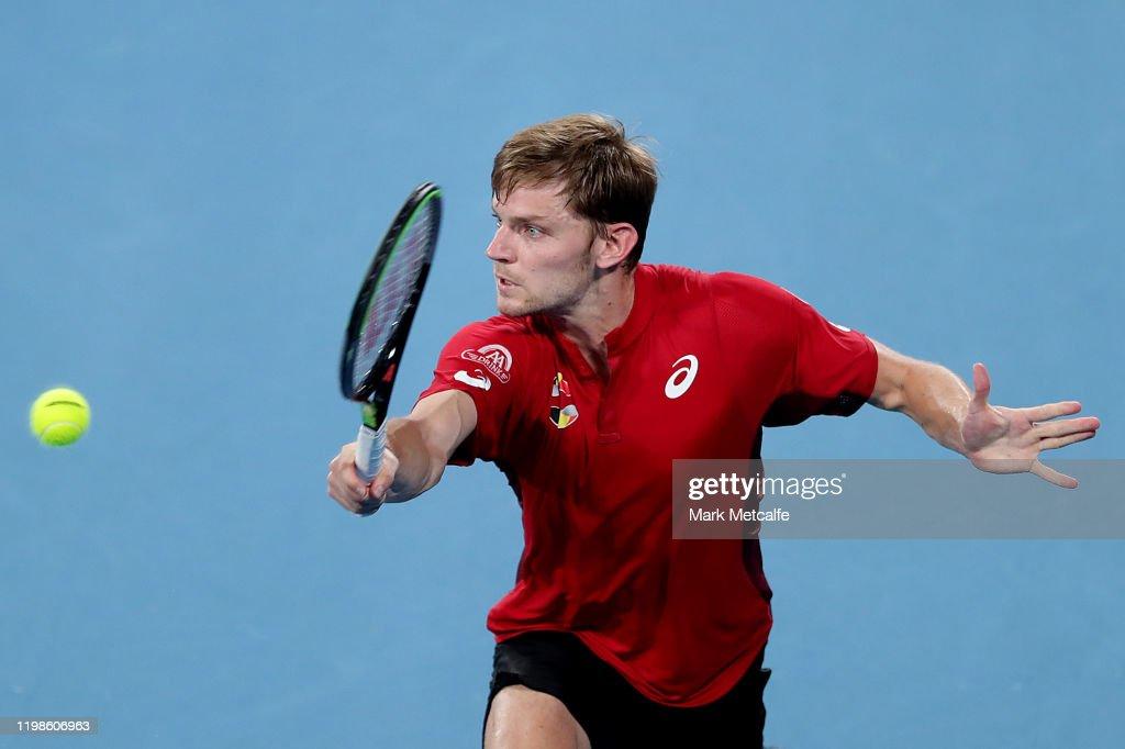 2020 ATP Cup - Sydney: Day 8 : News Photo