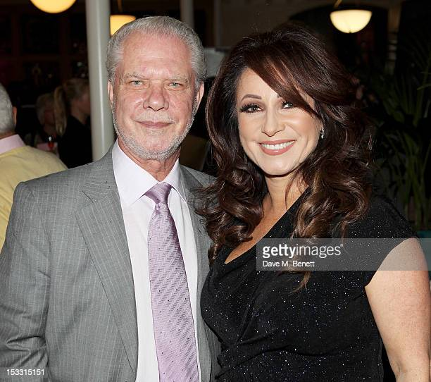 David Gold and Jacqueline Gold arrive at The Inspiration Awards For Women 2012 at Cadogan Hall on October 3, 2012 in London, England.