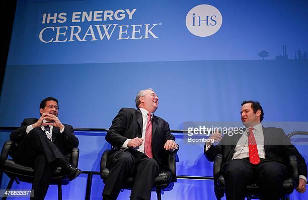 David Goldwyn president of Goldwyn Global Strategies LLC from left Jack Gerard president and chief executive officer of American Petroleum Institute...