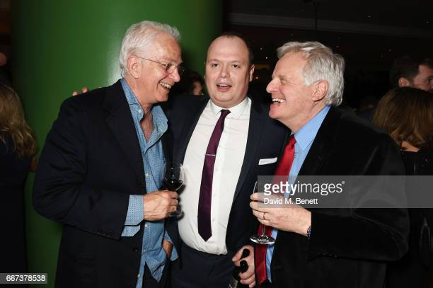 David Gower Gavin Spokes and Michael Grade attend the press night after party for the English National Opera's production of Rodgers Hammerstein's...