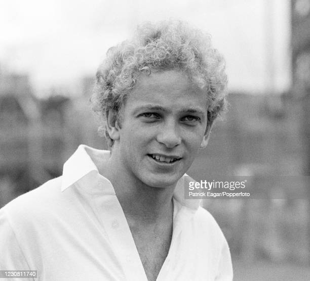 David Gower of England before the Benson and Hedges World Series Cup match between Australia and England at the SCG, Sydney, Australia, 14th January...