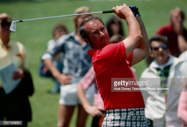 David Graham competing in the 1977 PGA Tournament of Champions ABC Sports coverage