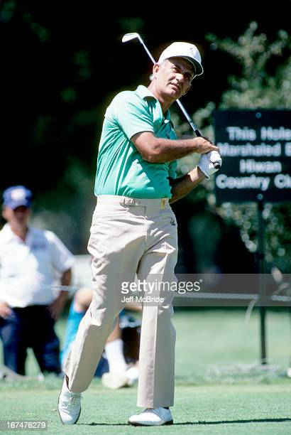 David Graham during the 67th PGA Championship held at Cherry Hills Country Club in Englewood Colorado August 811 1985