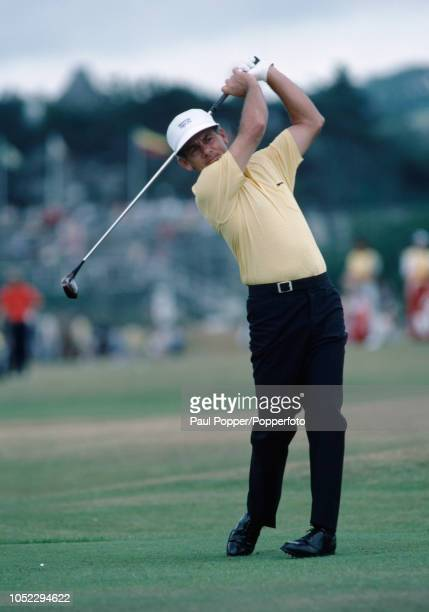 David Graham of Australia in action during the British Open Golf Championship held at St Andrews in Scotland, circa July 1984.