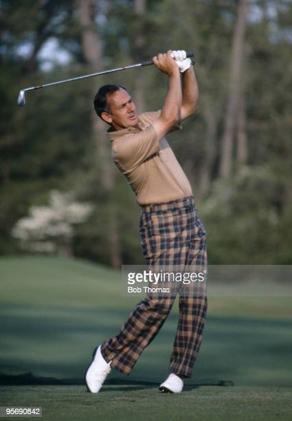 David Graham of Australia in action during the US Masters at the Augusta National golf course April 1981