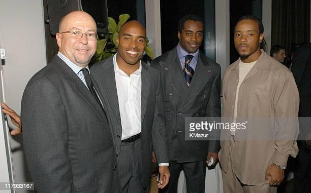 David Granger Esquire Editor in Chief Tiki Barber NY Giants Curtis Martin NY Jets and Santana Moss NY Jets