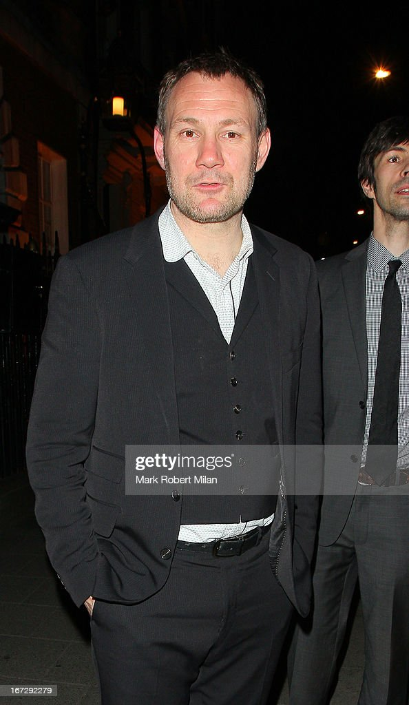 David Gray at Annabel's club on April 23, 2013 in London, England.