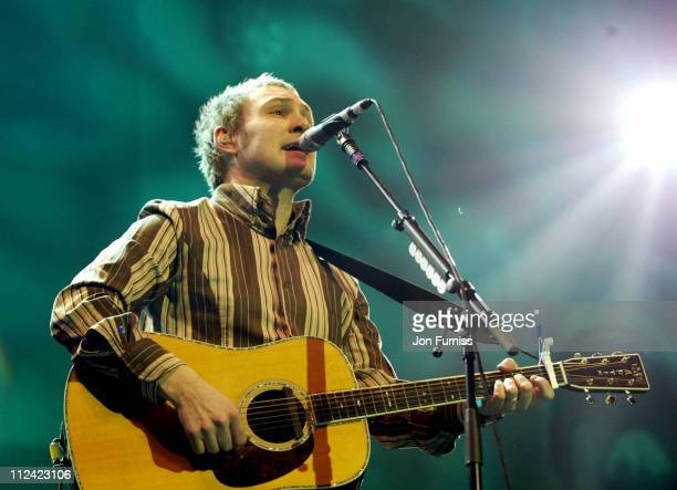 David Gray during Capital FM Christmas Live Concert 2002 at Royal Festival Hall in London Great Britain