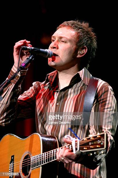 David Gray during David Gray in Concert at Madison Square Garden in New York City New York United States