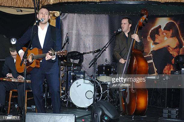 A Tribute to Johnny Cash Rehearsal at Cafe de Paris in London Great Britain