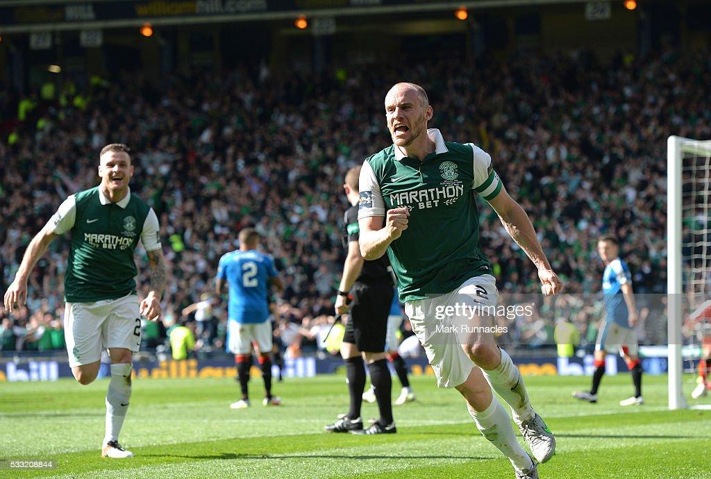 Rangers v Hibernian - William Hill Scottish Cup Final : News Photo