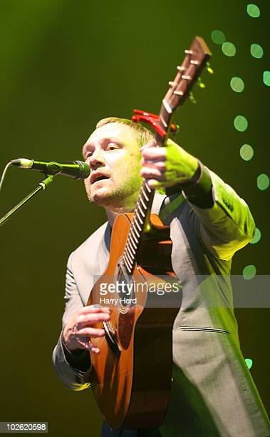 David Gray performs at Day 1 of The Cornbury Music Festival at Cornbury Estate on July 3 2010 in Oxford England