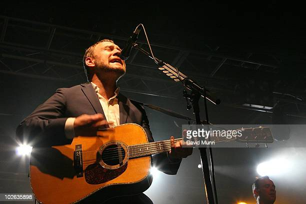 David Gray performs at the O2 Academy on July 5 2010 in Liverpool England