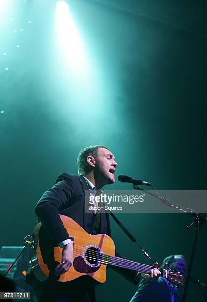 David Gray performs at the Uptown Theatre on March 17 2010 in Kansas City Missouri