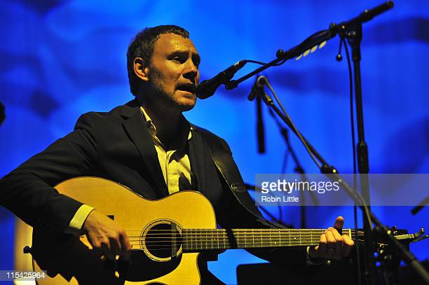 David Gray performs on stage at the Royal Festival Hall on June 6 2011 in London United Kingdom