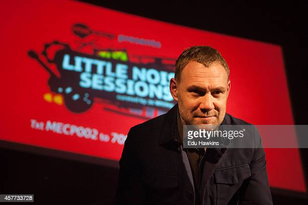 David Gray performs on stage for Mancap's Little Noise Sessions at the Union Chapel on October 23 2014 in London United Kingdom