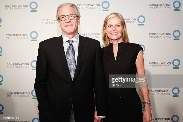 David Greenwald and Catherine Swift attend the Conservation International 16th Annual New York Dinner at The Plaza Hotel on May 15 2013 in New York...