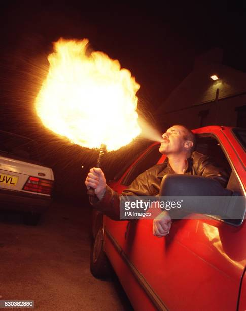 David Gregory a male stripper and fire eater failed to escape a driving ban after arguing at Nottingham Magistrates that he had not realised the...