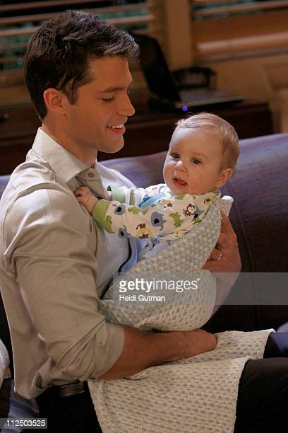 LIVE David Gregory and Matthew/Nicholas Urbanowicz in a scene that begins airing the week of May 2 2011 on ABC Daytime's 'One Life to Live' 'One Life...