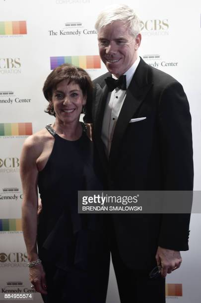 David Gregory arrives for the 40th Annual Kennedy Center Honors in Washington DC on December 3 2017 / AFP PHOTO / Brendan Smialowski
