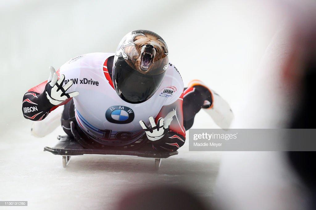 2019 IBSF World Cup Bobsled & Skeleton - Day 2 : ニュース写真