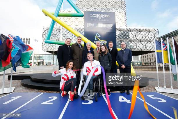 David Grevemberg Chief Executive of the Commonwealth Games Federation Ian Reid Chief Executive Officer at Birmingham 2022 Dame Louise Martin...