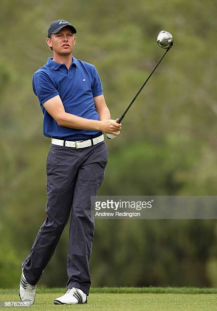 David Griffiths of England in action during the second round of the Turkish Airlines Challenge hosted by Carya Golf Club on April 30 2010 in Belek...
