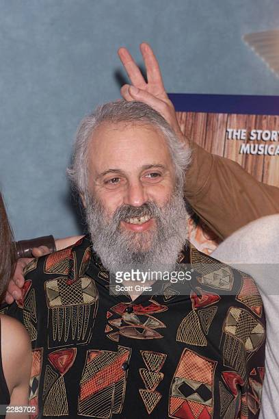 """David Grisman at a screening of """"Grateful Dawg"""" to benefit The New York Police & Fire Widows' and Children's Benefit Fund and The Windows of Hope..."""