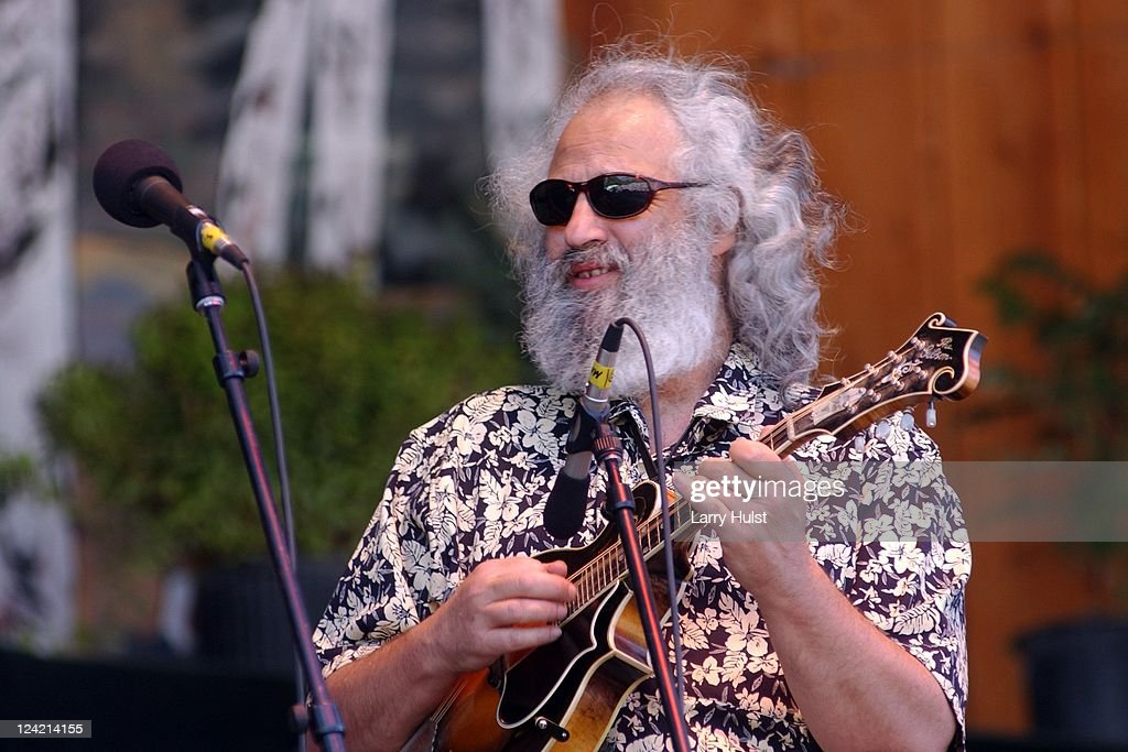 David Grisman performs at Telluride Bluegrass Festival at Telluride, CO on June 22, 2002.