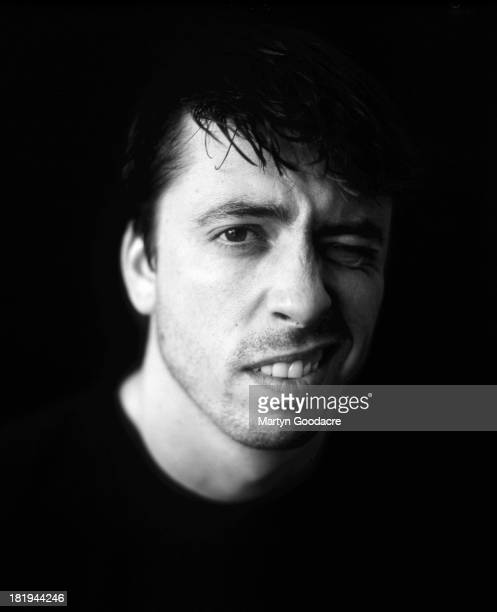 David Grohl of Foo Fighters poses for a studio portrait London 1997