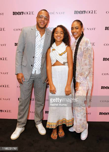 David Gross Emani Asghedom and Samantha Smith attend the Teen Vogue Summit 2019 at Goya Studios on November 02 2019 in Los Angeles California