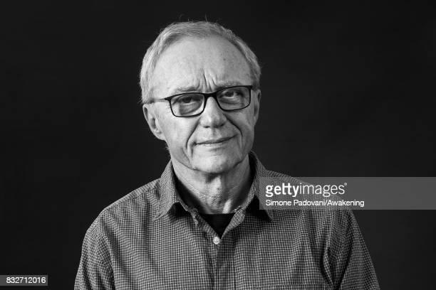 David Grossman attends a photocall during the Edinburgh International Book Festival on August 16, 2017 in Edinburgh, Scotland.