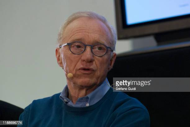 David Grossman during of the meeting with David Grossman at Sermig on November 19, 2019 in Turin, Italy.
