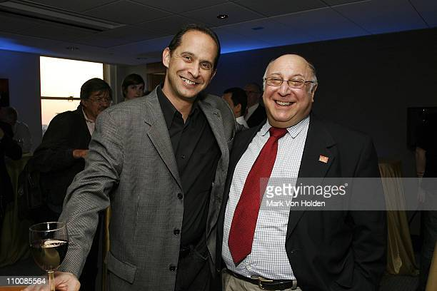 David Grossman of the Recording Academy and Jonny Meadow attend the New York Chapter of NARAS Open House Reception at New York Chapter Office on...
