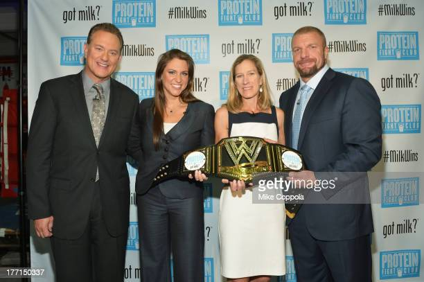 RD David Grotto Executive Vice President Creative WWE Stephanie McMahon Vice President MilkPEP Julia Kadison and Executive Vice President Talent and...