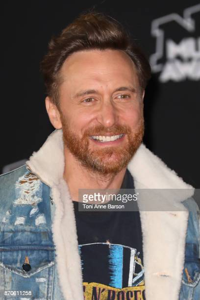 David Guetta arrives at the 19th NRJ Music Awards ceremony at the Palais des Festivals on November 4 2017 in Cannes France