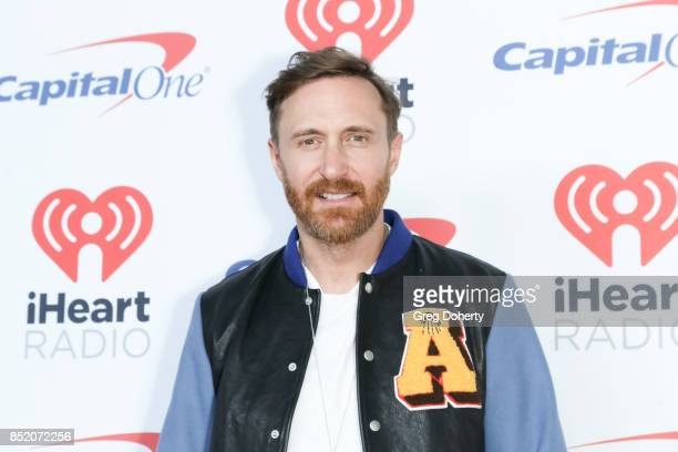 David Guetta arrives at the 2017 iHeartRadio Music Festival at TMobile Arena on September 22 2017 in Las Vegas Nevada