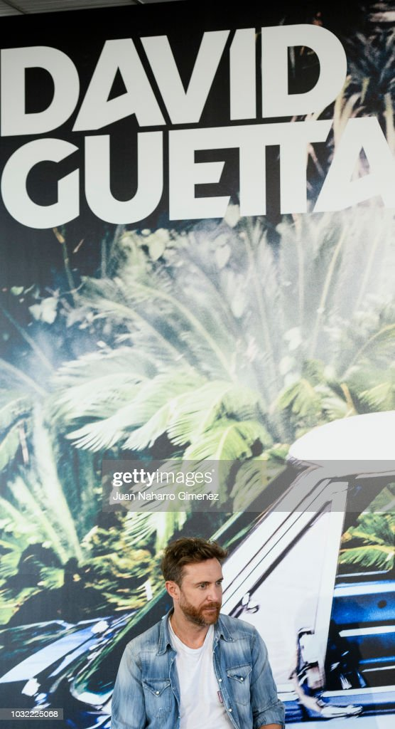 David Guetta attends album '7' presentation on September 12