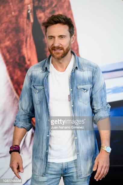 David Guetta Presents New Album 7 In Madrid Pictures and