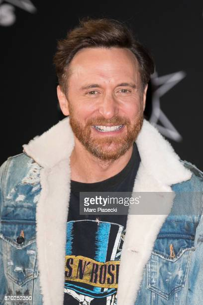 David Guetta attends the 19th 'NRJ Music Awards' ceremony on November 4 2017 in Cannes France