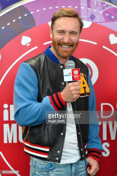 David Guetta attends the 2017 iHeartRadio Music Festival at TMobile Arena on September 22 2017 in Las Vegas Nevada