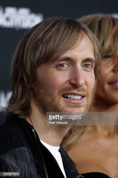 David Guetta attends the Activision E3 2010 kick-off event at the Staples Center on June 14, 2010 in Los Angeles, California.